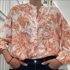 Zara viscose shirt